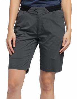 Haglofs Womens L.I.M Fuse Softshell Women's Hiking Shorts, 36 Magnetite