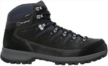 Berghaus Adult Unisex Explorer Trek Gtx Men's Hiking Boots, Uk 12 Carbon/Blue