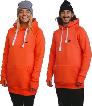 bro! Park Edition Unisex Ski/Snowboard Hoodie, M Coral