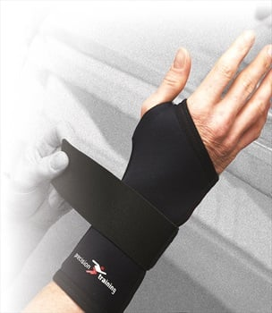 Precision Neoprene Long Wrist Support L Black