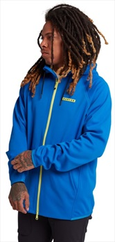 Burton Adult Unisex Crown Weatherproof Full-Zip Hooded Fleece, L Lapis Blue