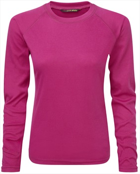 Manbi Women's Supatherm Ski/Snowboard Thermal Top, UK 16 Raspberry