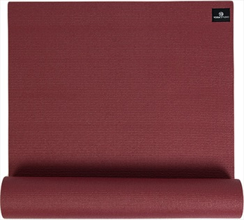 Yoga Studio Sticky Yoga/Pilates Non-Slip PVC Mat, 6mm Burgundy