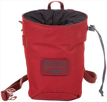 Montane Finger Jam Rock Climbing Chalk Bag, One Size Red Wood