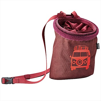 Edelrid Rocket Twist Rock Climbing Chalk Bag, One Size Vine Red