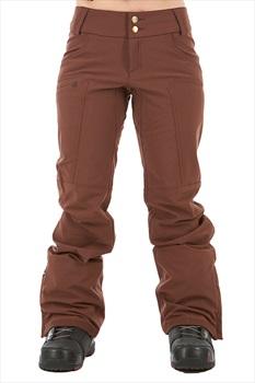 Dakine Inverness Women's Ski/Snowboard Pants, S Rust Brown