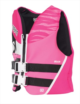 O'Brien Youth | Teen Biolite Watersports Life Jacket, Teen/ XS Pink