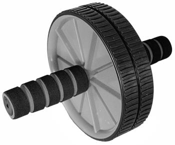 Phoenix Fitness Adjustable Ab Roller, Black/Grey