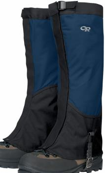 Outdoor Research Verglas Pertex High Top Boot Gaiters, XL Abyss