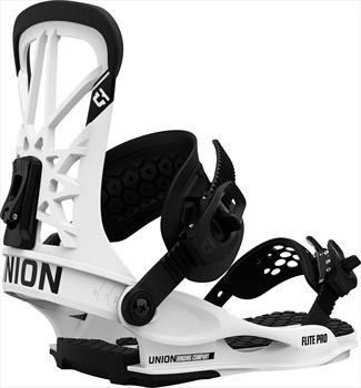 Union Flite Pro Snowboard Bindings, M White 2021
