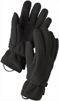 Patagonia Adult Unisex Synchilla® Fleece Gloves, S Black