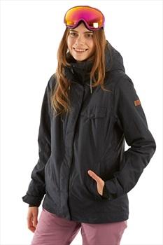 Roxy Billie Women's Snowboard/Ski Jacket, M True Black