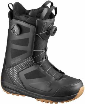 Salomon Dialogue Dual BOA Mens Snowboard Boots, UK 7 Black/Grey 2020