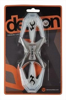 "Demon Quattro Hybrid Adhesive Snowboard Stomp Pad, 7 x 2.5"" Clear"