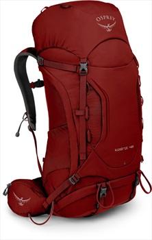 Osprey Kestrel 48 S/M Adventure Trekking Pack, Rogue Red