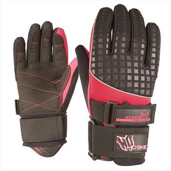 HO Sports World Cup Ladies' Waterski Gloves, XL Grey Pink