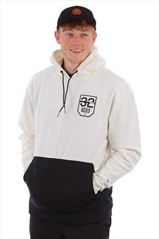 thirtytwo TM Pullover Ski/Snowboard Hoodie, L Black/White