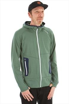 Ortovox Fleece Light Full Zip Hoodie, L Green Forest