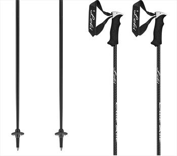 Leki Elite Lady Women's Pair Of Ski Poles 110cm Black/White