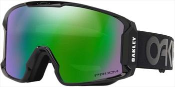 Oakley Line Miner XM Prizm Jade Ski/Snowboard Goggles, M Blackout