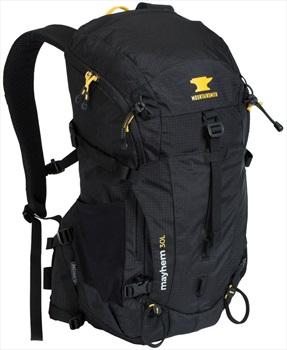 Mountainsmith Mayhem 30 Ultralight Hiking Backpack, 30L Heritage Black