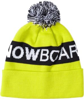 DC Chester Ski/Snowboard Beanie Bobble Hat, Sulphur Spring
