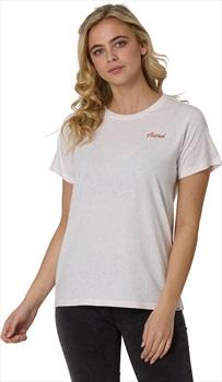 Animal Dailyla Women's Short Sleeve T-Shirt, UK 10 Coconut Cream