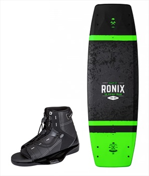 Ronix District   Access Kids Wakeboard Package, 129  UK 1-4 Grn Black
