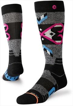 Stance Snow Merino Wool Women's Ski/Snowboard Socks, M Nordic Maze