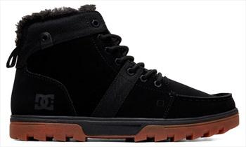 DC Woodland Men's Winter Boots, UK 7.5 Black/Gum