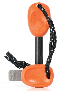 Light My Fire Swedish Firesteel BIO Army Outdoor Fire Starter, Orange
