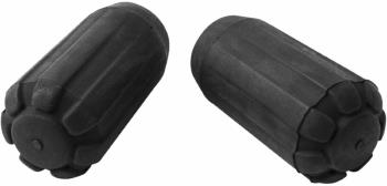 Black Diamond Z-Pole Rubber Tip Protectors Trekking Pole Tip Covers