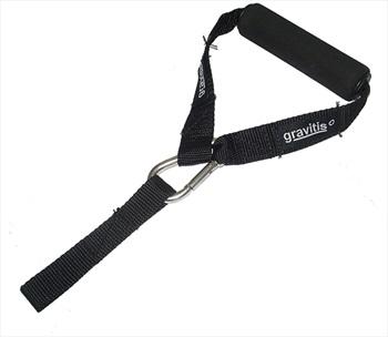 Gravitis Bungee Handle Ski/Snowboard Bungee Handle, One Size, Black