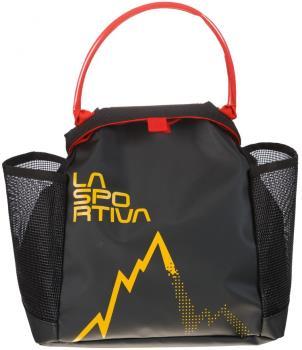 La Sportiva Training Bouldering Chalk Bag, One Size Black/Yellow
