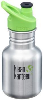 Klean Kanteen Kid Kanteen Water Bottle 355ml Brushed Steel Sport