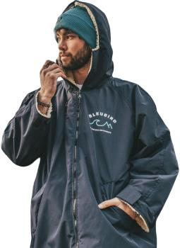 Bleubird Nordic Robe Waterproof Outdoor Changing Jacket, S/M Navy