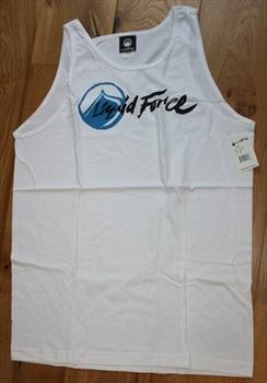 Liquid Force Corpo Style T Shirt Vest Top, M White