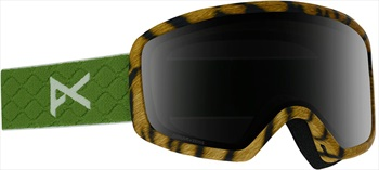 Anon Deringer MFI Sonar Smoke Women's Ski/Snowboard Goggles, M Tiger