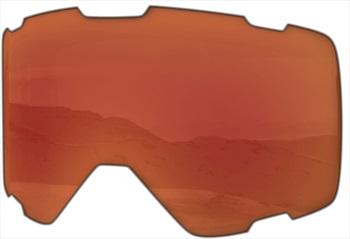 Melon Parker Ski/Snowboard Goggle Lens, One Size Red Chrome