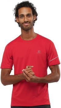 Salomon Men's Agile Short Sleeve Running T-shirt L Goji Berry