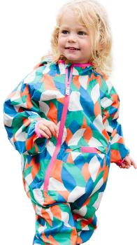 Muddy Puddles Ecolight Kids Lined Puddle Suit, 2-3yrs Abstract
