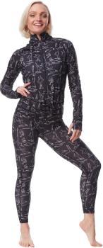 Airblaster Hoodless Ninja Suit Women's Onesie, S TP Yogis