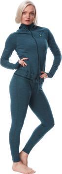 Airblaster Womens Womens Merino Ninja Thermal Base Layer Suit, Xs Night