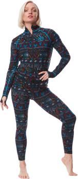 Airblaster Hoodless Ninja Suit Women's Onesie, S Wild Tribe