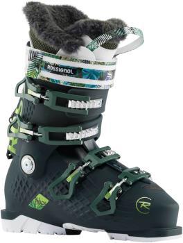 Rossignol Womens Alltrack Pro 100 W Womens Ski Boots, 23/23.5 Dark Green