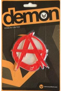 Demon Anarchy Adhesive Snowboard Stomp Pad Red
