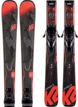 K2 Anthem 78 Marker ER3 10 Women's Skis, 156cm White/Blue 2020