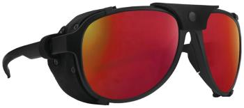 Majesty Apex 2.0 Polarized Red Ruby Mountain Sunglasses, O/S Black