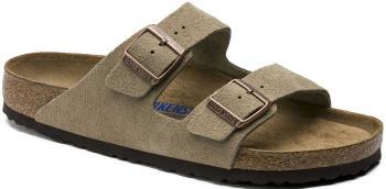 Birkenstock Arizona SFB Women's Suede Sandals, UK 4/4.5 Taupe