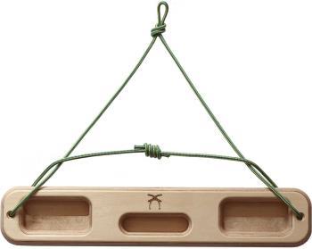 Ash Climbing Portable Wooden Hangboard, 400 x 75 x 24 mm Birch Ply